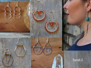 Selection of Sarah J. Jewelry